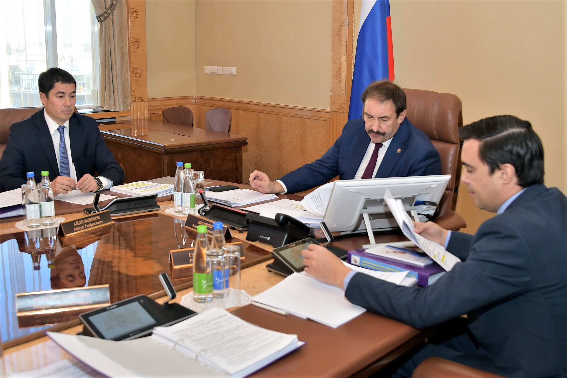 Meeting of the Supervisory Board of the RT Investment and Venture Fund was held under the chairmanship of Aleksey Pesoshin, the Prime Minister of the Republic of Tatarstan.