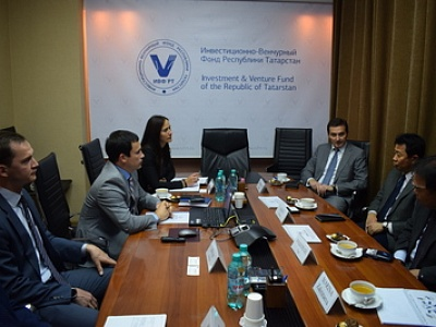 Planned meeting with representatives of the RT Investment and Venture Fund took place within the scope of the working visit of Japanese delegation from the SEMITEC Corporation to Tatarstan.